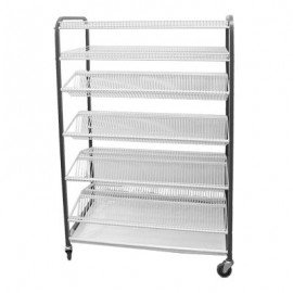 CROCKERY RACK MOBILE - F/STANDING - 830mm (400 PCS) - 1