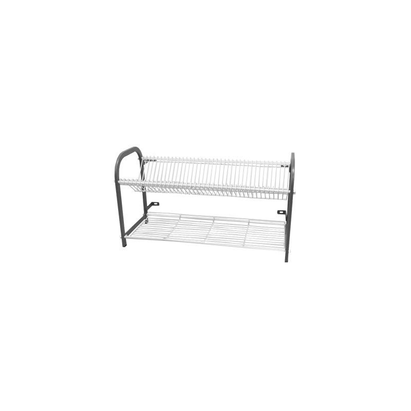 CROCKERY RACK WALL MOUNTED  802mm  38 PLATES