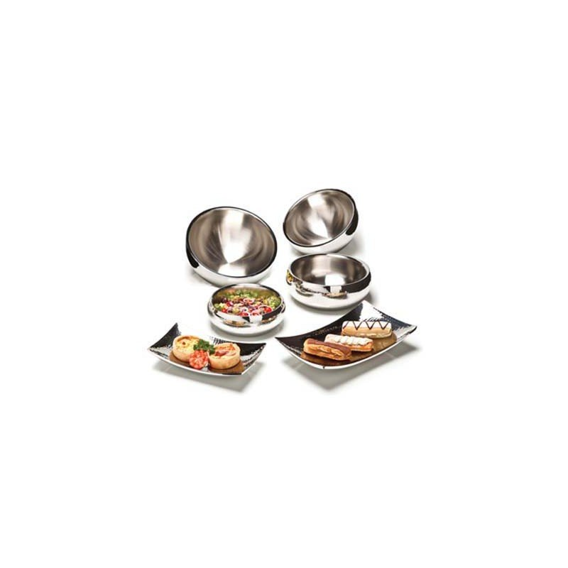 Stainless Steel Serving Bowl – 210mm - 1