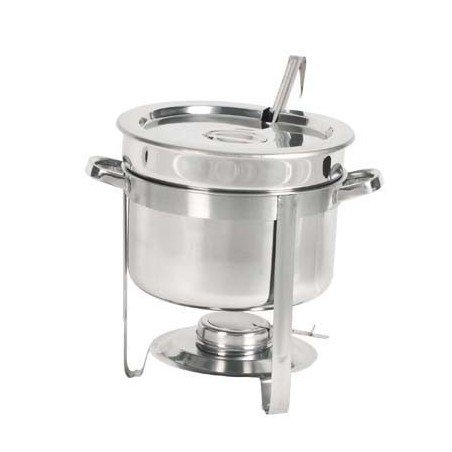 CHAFING DISH S/STEEL- SOUP STATION - 1