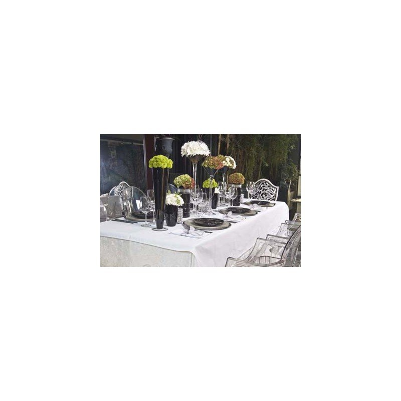 CHEFEQUIP TABLE CLOTH 900 x 900 WHITE - SQUARE - 1