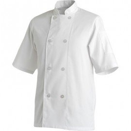 CHEFS UNIFORM JACKET BASIC SHORT - X - SMALL - 1