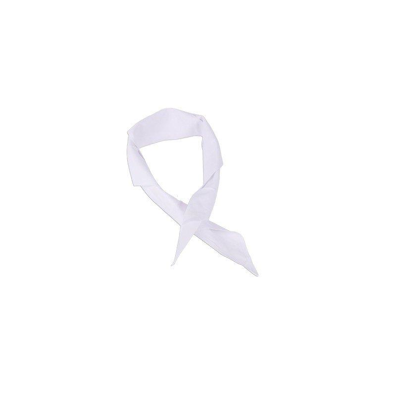 CHEFS UNIFORMS - TRIANGLE NECK TIE - WHITE - 1