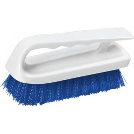 LIP SCRUB BRUSH - POLYESTER - 150mm - BLUE - 1