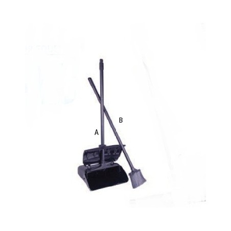 LOBBY DUST PAN WITH COVER - 870 x 280 x 280mm - 1
