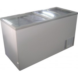 CHEST FREEZER - 520L - GLASS SLIDER - 1