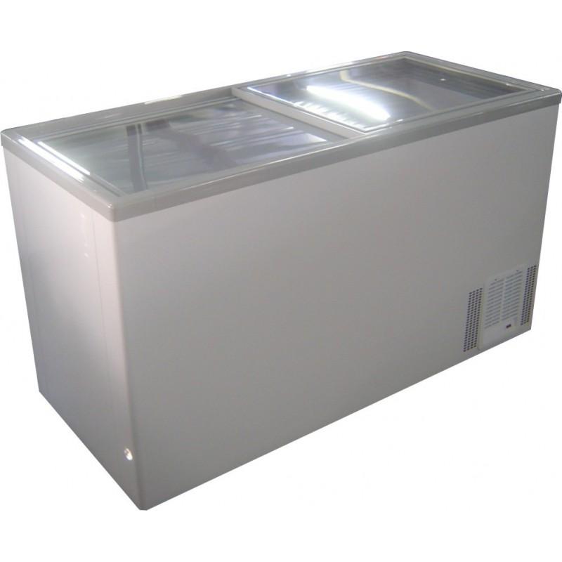 CHEST FREEZER - 520L - GLASS SLIDER - 1