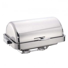 CHAFING DISH COUNTERSUNK RECTANGULAR STAINLESS STEEL