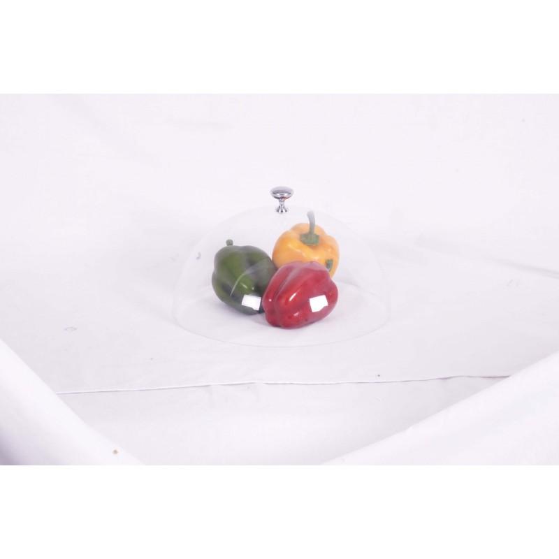 DOME CLOCHE PLASTIC - 300mm - 1