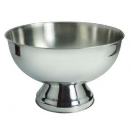 PUNCH BOWL STAINLESS STEEL - 340mm - 1