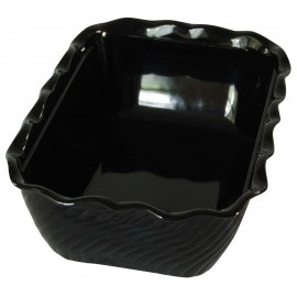 DISPLAY DISH TULIP - BLACK