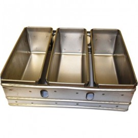 BREAD TRAY ALUSTEEL - THREE TRAY - 1