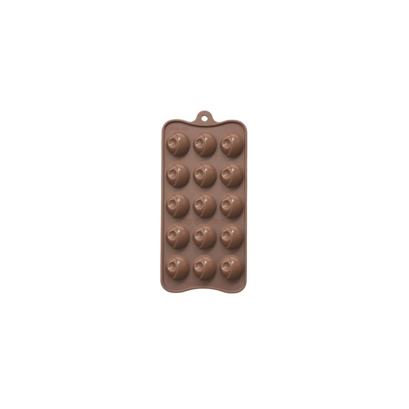 MOULD CHOCOPARTY ROUND 15 PIECE - 1