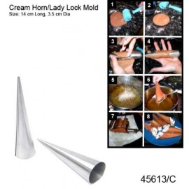 CREAM HORN S/STEEL - 1