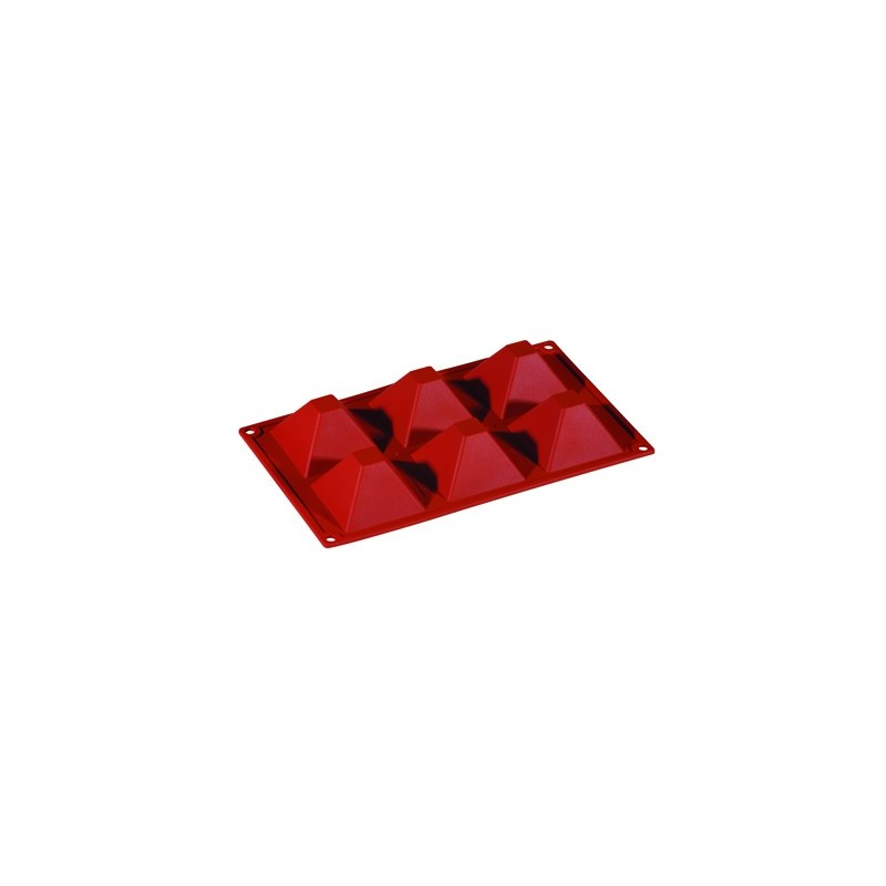 SILICONE MOULD FORMAFLEX 6 PORTION PYRAMID - 1