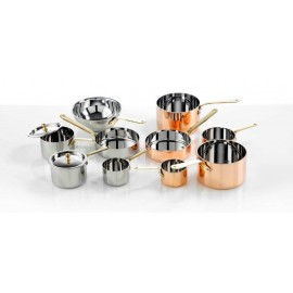 MINI S/STEEL CASSEROLE POT - 120 x 75mm - 1