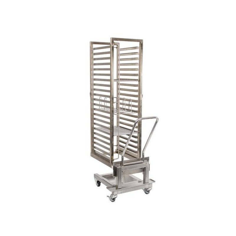 CONVECTION OVEN ANVIL ROLL IN TROLLEY WITH RACKS - 1