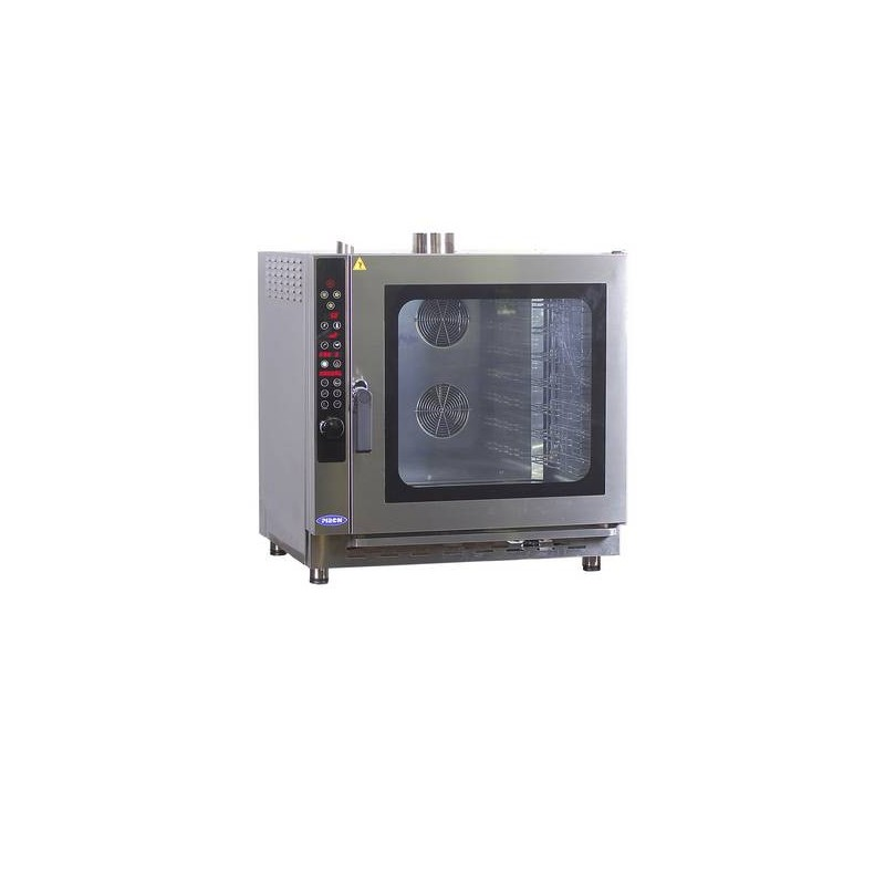 COMBI STEAM OVEN PIRON [GAS] - 7 PAN - DIGITAL - 1