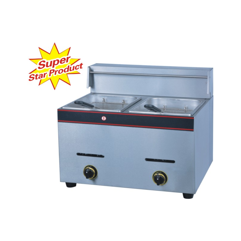 Double Gas Fryer  - 1