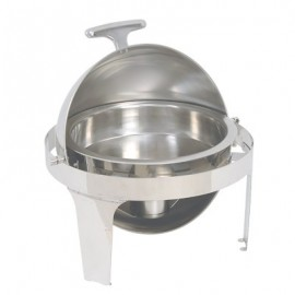 CHAFING DISH ROUND - ROLL TOP (180 DEGREE) - 1