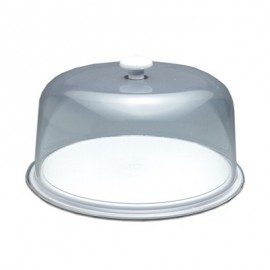 TUFF TRAY CAKE DISPLAY TRAY AND DOME 325 x 150mm
