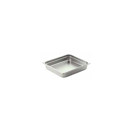 FOOD PAN INSERT S/STEEL GN (2/3) - 1
