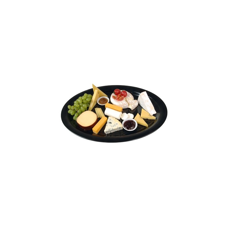 BUFFET PLATTER ROUND - 480mm - WHITE - 1