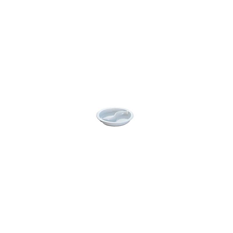 INSERT ROUND PORCELAIN 2 DIV - 1