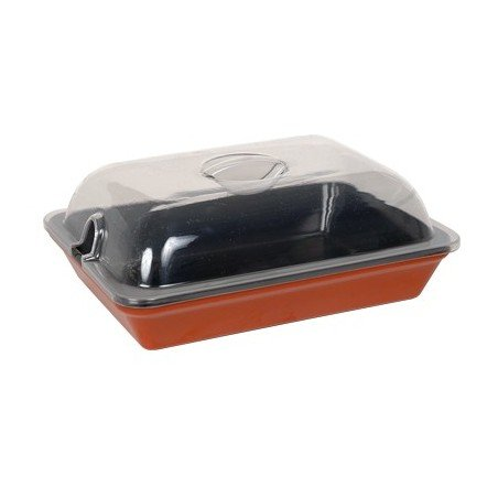 DISPLAY DISH LID - 300mm (NOT FOR HEAT) - 1