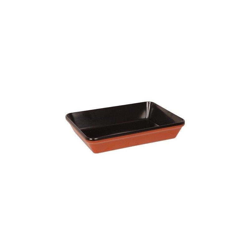 DISPLAY DISH RECTANGULAR  300 x 230mm  BLACK