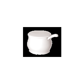 MUSTARD POT w/SLOTTED LID 8cl - 1