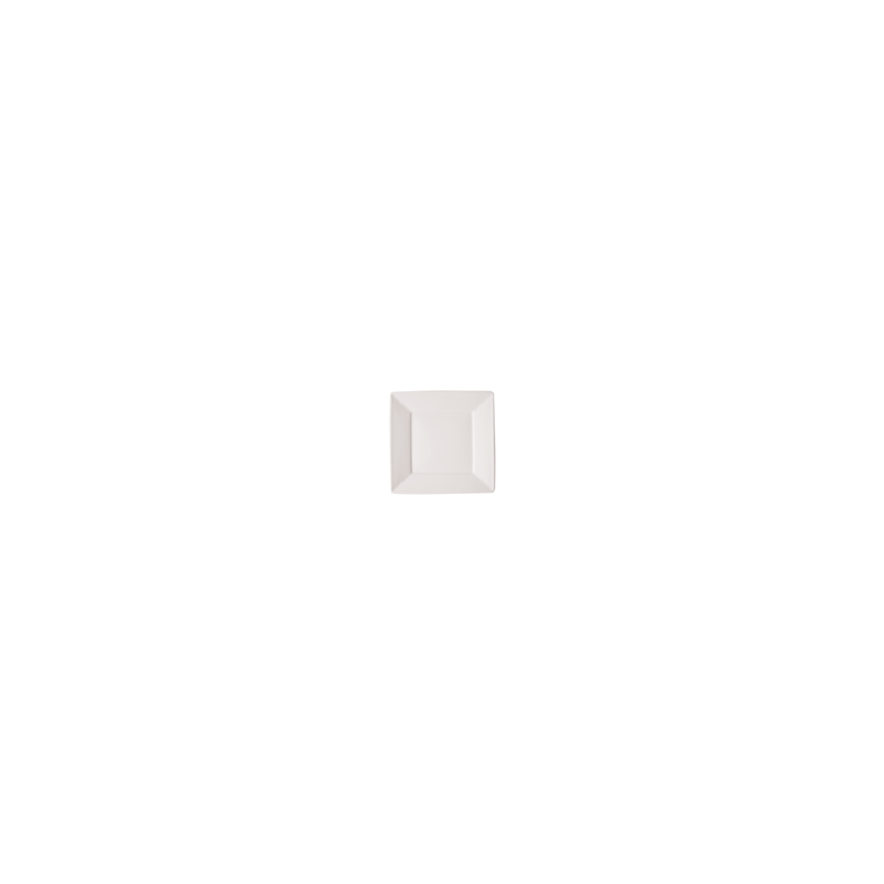 FLAT SQUARE PLATE 20cm - 1