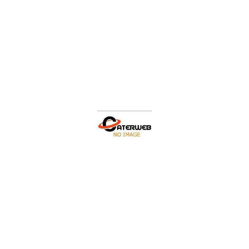 DESIGNER DISPLAYWARETM HALF SIZE LONG FOOD PAN  530 x 160 x 63mm  WHITE