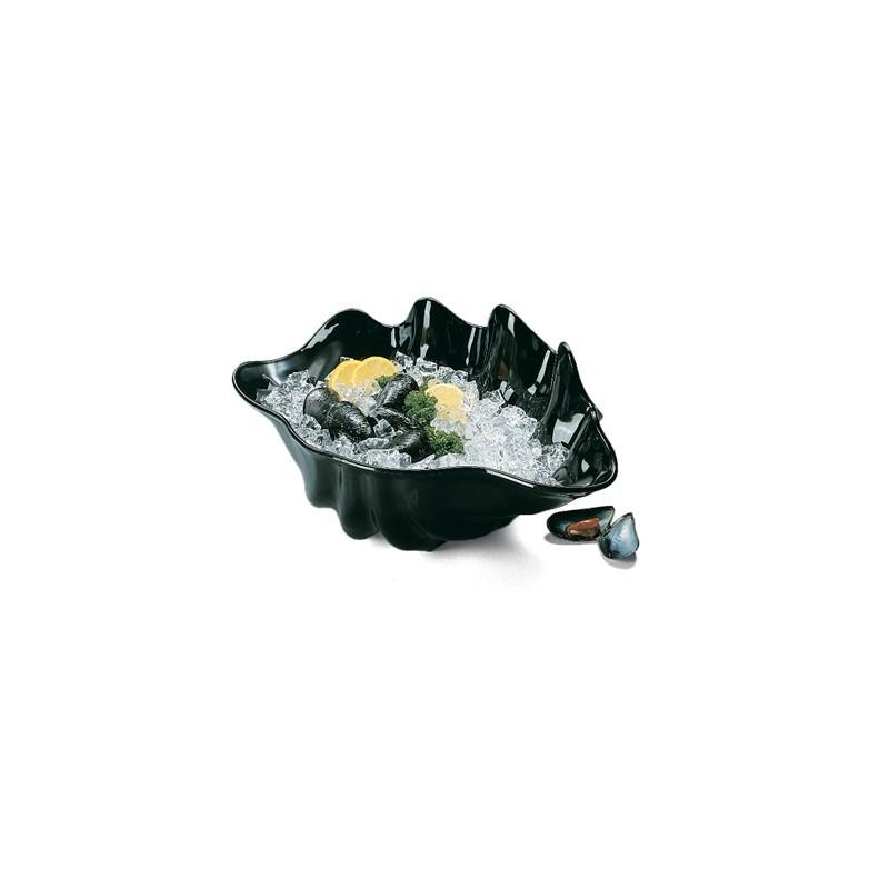 BUFFET CLAM SHELL - 650ml (BLACK) - 1