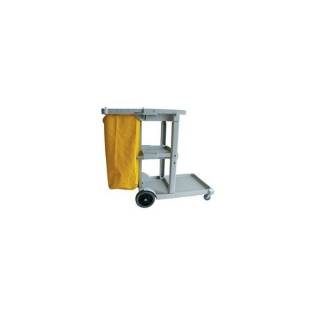 JANITOR TROLLEY PLASTIC - 1140 x 510 x 980mm - 1