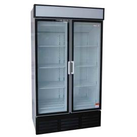 2 Door Swing Door Beverage Cooler - 1