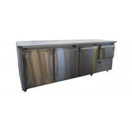 UNDERBAR FRIDGE - STAINLESS STEEL THREE AND A HALF SWING DOOR - 1