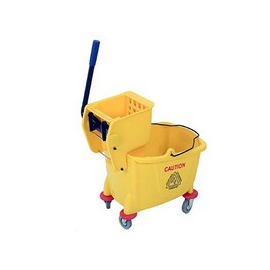 PLASTIC DOUBLE BUCKET & WRINGER - 1