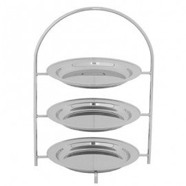 TEA STAND BRISTOL  3 TIER (140mm TRAYS)