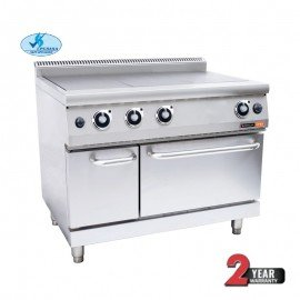 ANVIL 3 PLATE STOVE WITH OVEN - GAS - 1