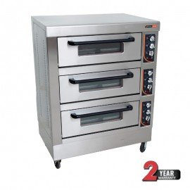 DECK OVEN ANVIL - 6 TRAY - TRIPLE DECK - 1
