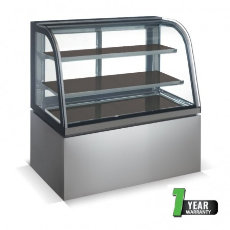 DISPLAY UNIT HEATED SALVADORE - F/STAND ALONE - 900mm - 1