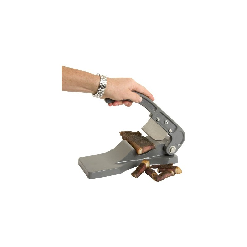 BILTONG CUTTER MANUAL - ALUMINIUM CAST - 1