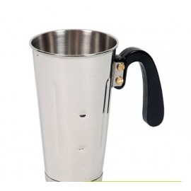 MILK SHAKE CUP S/STEEL WITH HANDLE - 880ml - 1