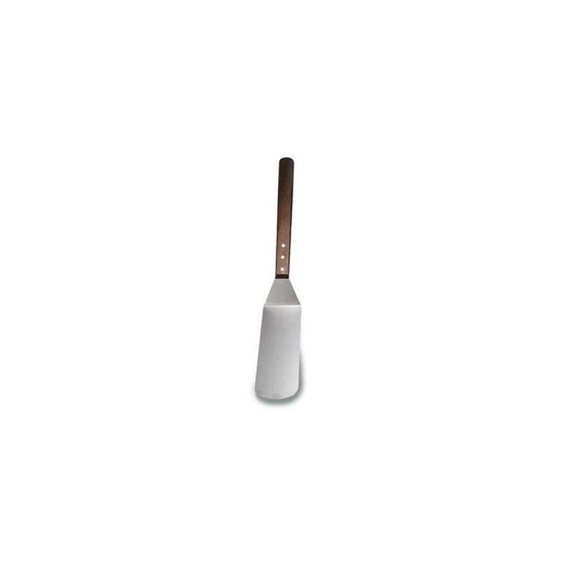 HAMBURGER TURNER LONG HANDLE  WOOD  200MM