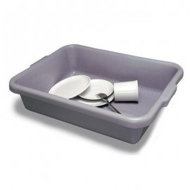 DISH N TOTE  GREY  500 x 400 x 130MM