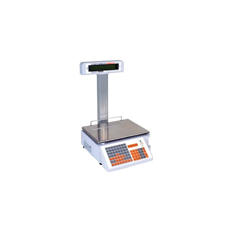 RETAIL PRINTER SCALE ELECTRONIC - 6/15kg (2/5gr) - 1