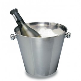 ICE BUCKET STAINLESS STEEL  4LT (WINE) 215MM x 185MM